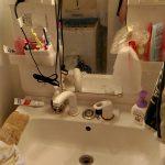汚部屋をスッキリ片付ける!洗面所編。