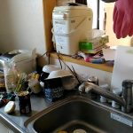 汚部屋をスッキリ片付ける!キッチン編。
