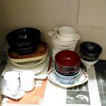 食器棚はいらない!ミニマリスト4人家族の食器。